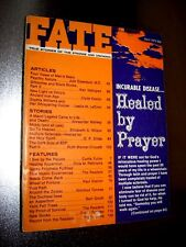 FATE MAGAZINE APRIL 1972:HEALED BY PRAYER,GRIMOIRES & BLACK BOOKS,OHIO IRON AGE!