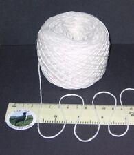 50g balls White knitting wool 4 ply 100% Pure Cotton British yarn Gorgeous