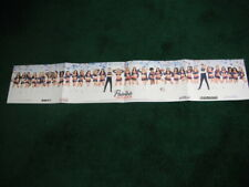 2019 NEW ENGLAND PATRIOTS CHEERLEADERS POSTER PRINT 1ST EVER MALES + PAT MASCOT