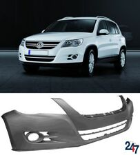 NEW VW TIGUAN 2007 - 2011 FRONT BUMPER WITH FOG LIGHT / AIR VENT HOLES PRIMED