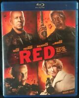 NEW !! - Red - Bruce Willis - Morgan Freeman - Blu-ray Disc