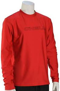 O'Neill Kid's Basic Skins LS Surf Shirt - Red - New
