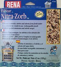 RENA API Filstar Nitra-Zorb Aquarium Nitrate Media 4.5oz PouchXP1/XP2/XP3