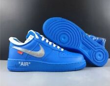 "Nike X Off-White Air Force 1 University Blue ""MCA"""