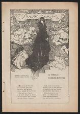 AMALIA GUGLIELMINETTI PIRO PIRO ESTRATTO DA NOVELLA 1923