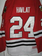 HOCKEY NHL JERSEY CHICAGO BLACKHAWKS #24 MARTIN HAVLAT CHANDAIL LNH