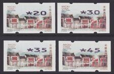 Macau Macao 2015 ATM Nagler Mi.Nr. 9 II Satz 4 Werte ** violettschwarz Altstadt