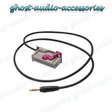 Audi A4 Navigation Plus Aux Auxiliary Input Adaptor Lead Cable Genuine Plug