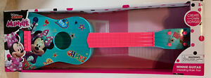Disney Junior Minnie Mouse Guitar 🎸  New 24'' Teal & Pink