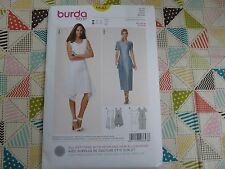 Burda 6643 Misses' Super Cute fitted dress sewing pattern sizes 10 thru 20