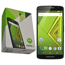 "New 5.5"" Motorola Moto X PLAY XT1562 16GB Black Android Factory Unlocked 4G OEM"