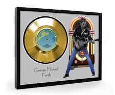 George Michael Faith Framed Gold Disc Display Vinyl (C1)