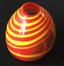 Grand vase psychédélique Création Yannick Hoeltzel - Maître verrier plasticien