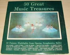 50 GREAT MUSIC TREASURES ALBUM 1962 ALL DISC RECORDS ADS-2 OPERA BALLET CHAMBER