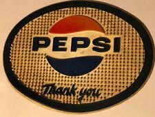 GA. 1970/'S PEPSI COLA FOOTBALL PAPER PLACE MAT SANDY SPRINGS