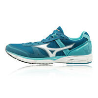 Mizuno Womens Wave Emperor 3 Running Shoes Trainers Sneakers Blue Sports