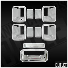 2008-2016 Ford F-250 Super Duty 4dr Chrome Door Handle Tailgate Cover Trim