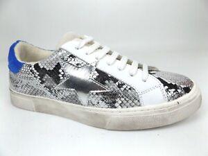 Steven New York RUBIE Casual Comfort Leather Sneakers Women SZ 8.0 M, NEW, 18218