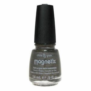 China Glaze - Attraction #1108 Magnetix Grey Nail Lacquer Polish *NO MAGNET INC*