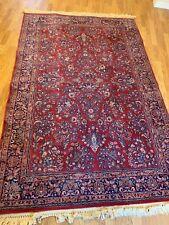 Kara Shah Karastan Rose Sarouk Area Rug - design 500-1007 - c. 6' x 9'