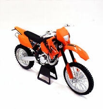 1:12 KTM 450 EXC Racing Motorcycle Motocross Model New without Box Orange