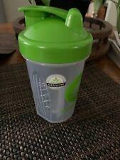 New Nutrisystem blender bottle shakes shaker 16 oz mixer whisk ball  BPA Free