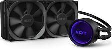 More details for nzxt kraken cpu liquid cooler 120mm 240mm 360mm, x53, aio rgb water cooler rgb