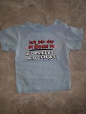Spruch T Shirt Gr.68/74