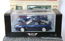 NISSAN 200SX S13 METAL DARK BLUE 1991 NEO 44527 1/43 LHD LEFT HAND DRIVE BLAU