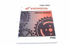 New Service Manual 82-83 FT500 Ascot 500 Single OEM Honda Shop Repair Book  #R87