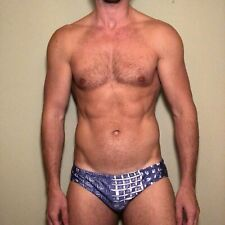 Mens Retro Pegasus Swim Brief - Medium