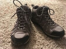 Womens Columbia Waterproof Gray Mid Hiking Boots, Size 9