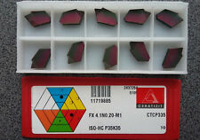 WENDEPLATTEN 10 x CERATIZIT FX 4.1N0.20-M1 CTCP335 WENDESCHNEIDPLATTEN INSERTS