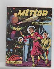 Météor n°54 n° spécial 68 pages - Artima 1957 - Giordan. Science-Fiction.