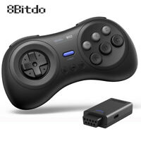 Wireless Controller+  Bluetooth Adapter Kit for Sega Mega Drive Sega Genesis
