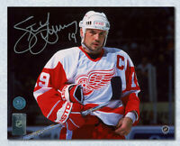 Steve Yzerman Detroit Red Wings Autographed Intensity 16x20 Photo