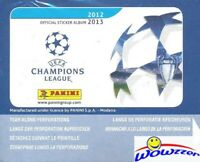 2012/13 Panini Champions League Stickers HUGE 50 Pack Sealed Box-250 Stickers!