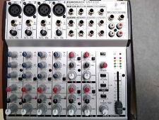 Mischpult Behringer Eurorack UB 1202 Mixer 12 Kanal-, 2 Bus-Mic-/Line-Mischpult