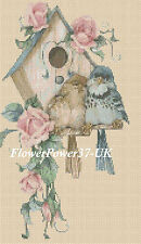 Cross stitch chart Bird Heaven no. 281 Flowerpower 37-uk. FREE UK p&p...