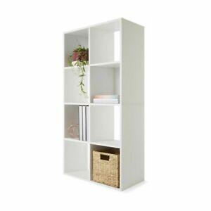 Display Shelf 8 Cube Storage Cabinet Organiser Bookshelf Case Unit Brand New M1