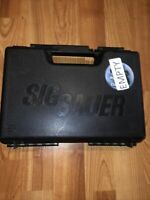Sig Sauer M11 Pistol Black Hard Case