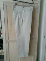 Dockers D4 Relaxed Fit Pants Mens 34 x 32 Chinos Khakis Beige