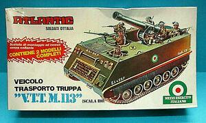 ATLANTIC 603 1/72 HO V.T.T. M.113 VEICOLO TRANSPORTO TRUPPA MIB SHIELD 1973 RARE