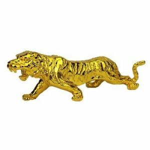Animal Tiger Figurine Risen Feng Shui Sturdy for Living Room Office Decoration