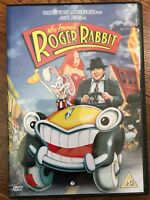 Who Framed Roger Rabbit DVD 1988 Walt Disney Movie Film Classic w/ Bob Hoskins