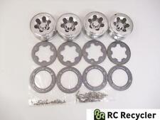 Integy Type VII 2.2 Metal Beadlock Wheels Axial AX10 SCX10 Rock Crawler
