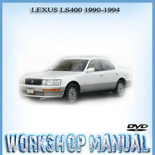 LEXUS LS400 1990-1994 WORKSHOP REPAIR SERVICE MANUAL IN DISC