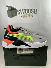 Puma RS-X Hard Drive Men's Size Sneakers 369818-01 Gray Orange Yellow