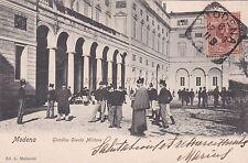 MODENA - Giardino Scuola Militare 1903