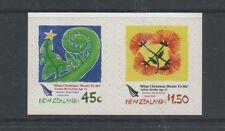 New ZEALAND 2006 Noël self adhésifs paire neuf sans charnière menthe set stamps